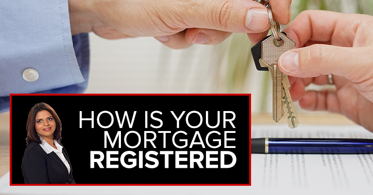 How Is Your Mortgage Registered