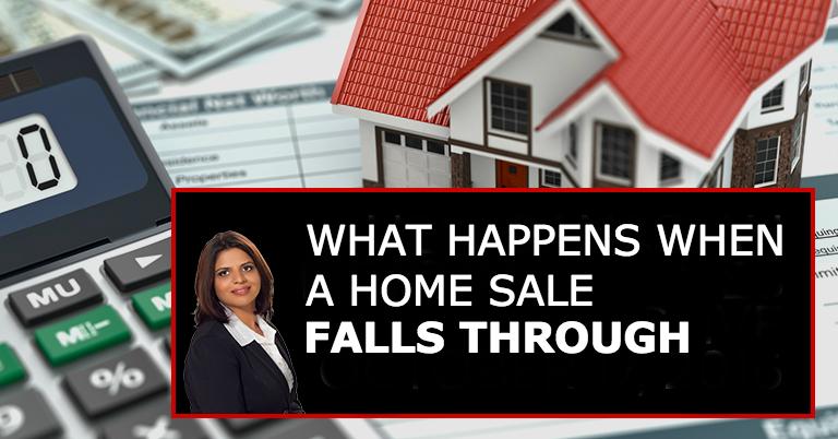 What Happens When A Home Sale Falls Through?