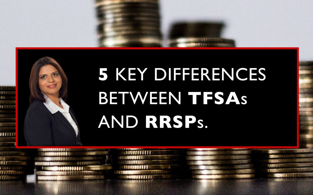 5 Key Differences Between TFSA's and RRSP's