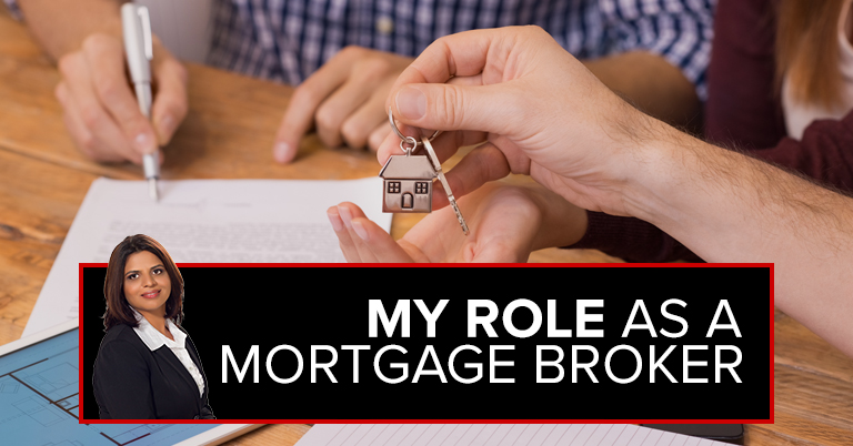 My Role as a Mortgage Broker