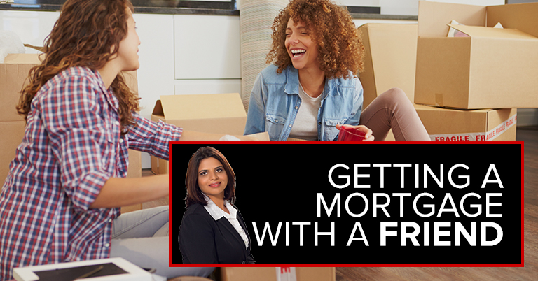 Getting A Mortgage With A Friend