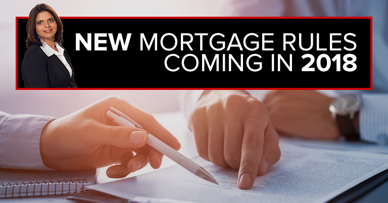 New Mortgage Rules Coming in 2018