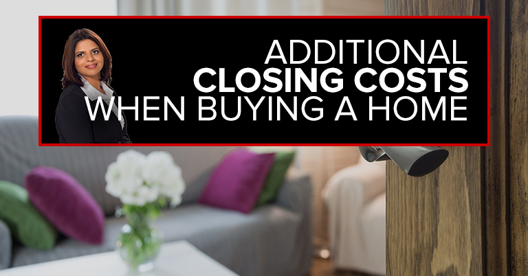 Additional Closing Costs When Buying A Home