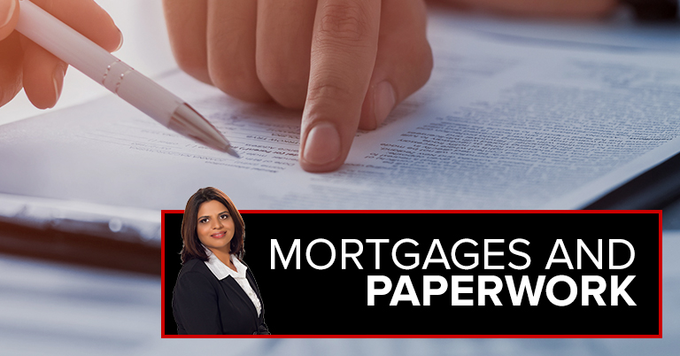 Mortgages And Paperwork